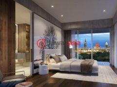 居外网在售越南1卧1卫的新建房产总占地68平方米