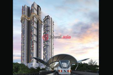 居外网在售马来西亚2卧2卫新开发的房产总占地8308平方米MYR 1,172,000