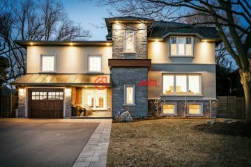 加拿大房产房价_安大略省房产房价_奥克维尔房产房价_居外网在售加拿大奥克维尔5卧3卫最近整修过的房产总占地460平方米CAD 1,698,000