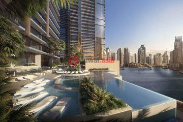 居外网在售阿联酋迪拜1卧2卫的房产总占地72平方米AED 1,530,000
