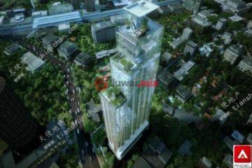 居外网在售泰国1卧1卫新房的房产总占地53平方米USD 584,700