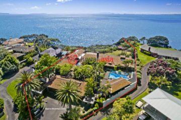 居外网在售新西兰4卧4卫特别设计建筑的房产总占地3665平方米NZD 13,000,000