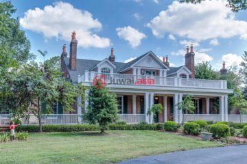 居外网在售美国Versailles的房产总占地1060698平方米USD 16,000,000