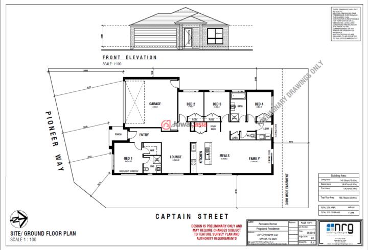 澳大利亚维多利亚州墨尔本的房产,Waimea Crescent,编号23364246