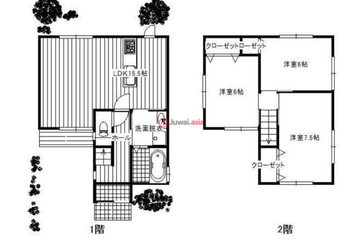 日本的房产,醍醐西大路町29-11,编号38318066