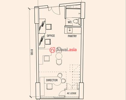俄罗斯住宅平面设计图