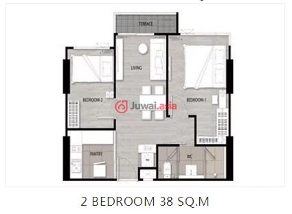 泰国曼谷的房产,素坤逸Sukhumvit路70巷,编号36418373