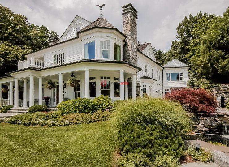 美国康涅狄格格林威治4卧6卫的别墅房产良种场图片