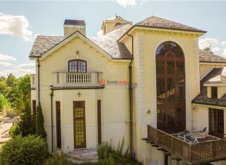 美国康涅狄格格林威治6卧10卫的房产陈振林别墅做了钱多少图片